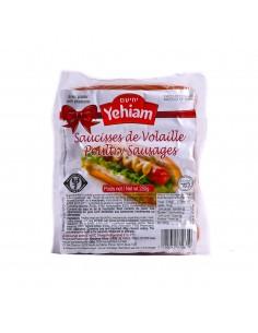 Saucisses de poulet Yehiam