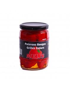 Poivron rouge grillé entier à l'eau Mélis