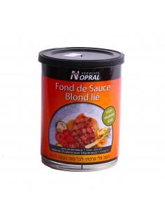 Fond de sauce blond lié