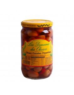 Olives cassées pimentées Ben