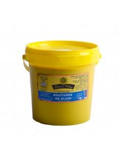 Moutarde de Dijon en seau