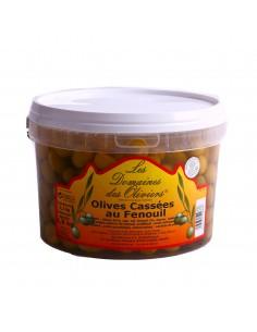 Seau olives fenouil