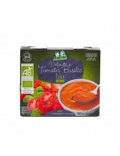 Soupe velouté tomate basilic bio Makabi