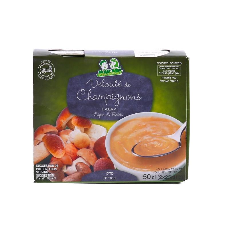 Soupe velouté de champignon Makabi