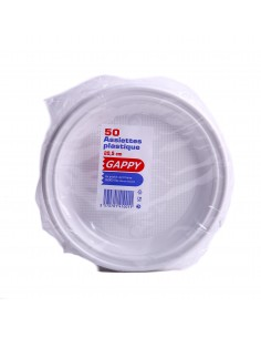 Assiettes plastiques grand modèle x50