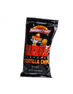 Chips tortilla barbecue