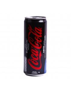 Canette Coca cola zero