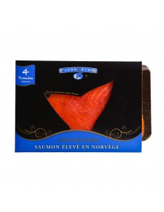 Saumon super trait de norvège
