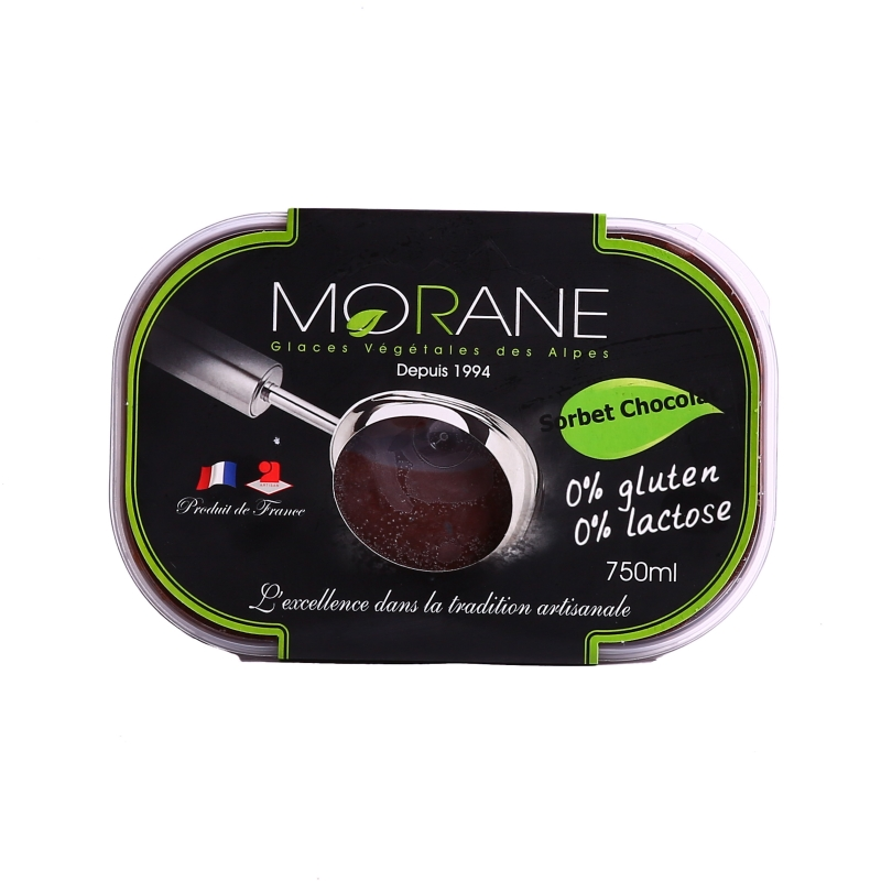 Sorbet chocolat Morane