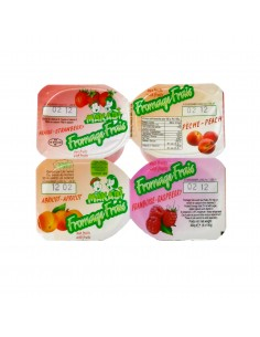 Fromage frais aux fruits x4 Makabi