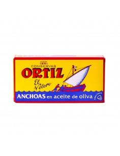 Anchois à l'huile Ortiz