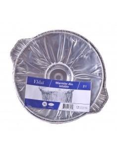 Marmite en aluminium jetable Eldai