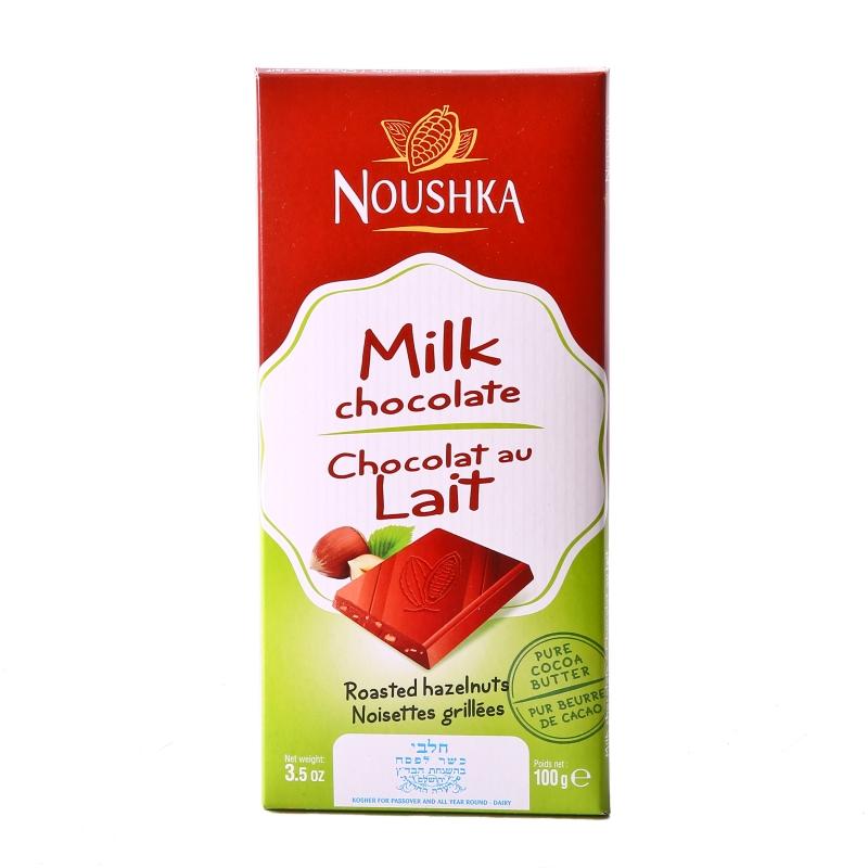 tablette chocolat au lait noushka dk market. Black Bedroom Furniture Sets. Home Design Ideas