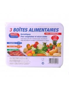 Boîtes alimentaire de  1.1L  x3