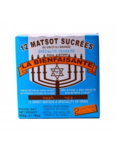 Matsot sucrées l'Oranaise la Bienfaisante