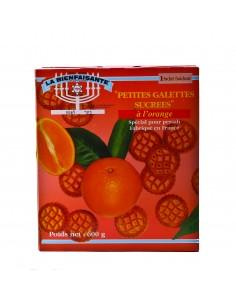 Galettes rondes a l'orange la Bienfaisante