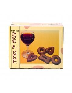 Biscuits aux vin et chocolat