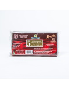 Chocolat cuisine x5 Mehoudar 50%cacao