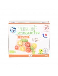 Tartines bio au sarrasin World Food