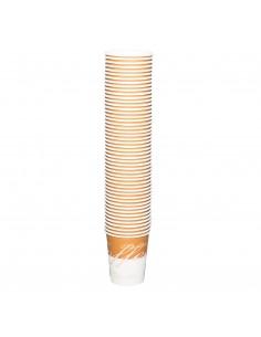 Gobelets à café en carton x50 Prodomeo