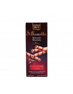 Silhouette gaufrette chocolat