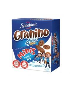 Mini Granino pockets x4 lait