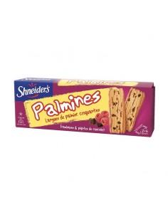 Palmines framboises chocolat Shneider's