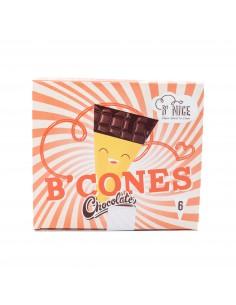 Glaces Bcones chocolat x6