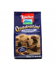 Loacker Quadratini sachet chocolat