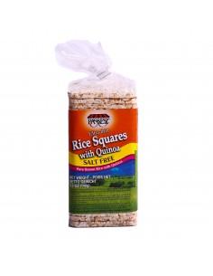 Galettes de riz au quinoa sans sel