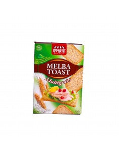 Crakers Melba toast multigrain