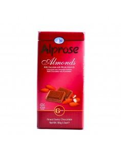 Chocolat Alprose aux amandes