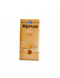 Chocolat blanc Alprose