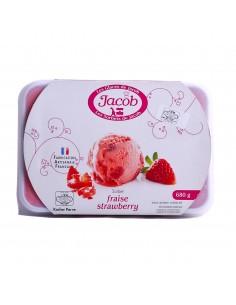 Sorbet fraise jacob