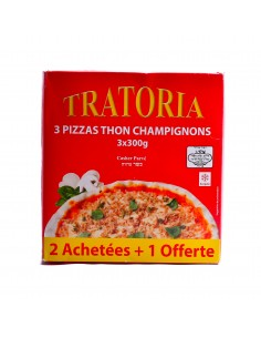 Pizza x3 tratoria thon