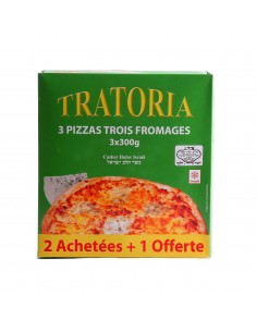 Pizza Tratoria aux 3 fromages