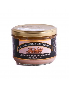 Crème de foie de volaille forestière morilles