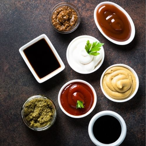 Sauces, Condiments